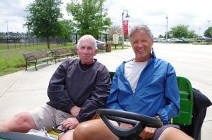 Joe Doyle and Dave Barnard of the RussMatt Invitational